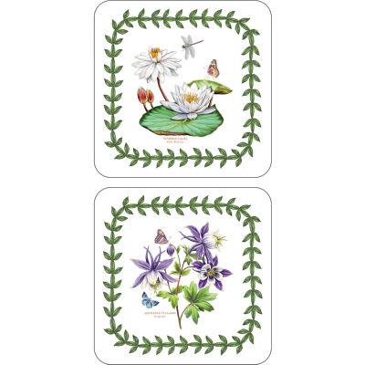 Portmeirion Botanic Garden Exotic Coaster Set of 6