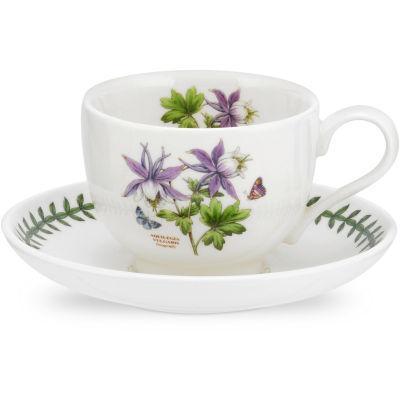 Portmeirion Botanic Garden Exotic Teacup & Saucer (T)