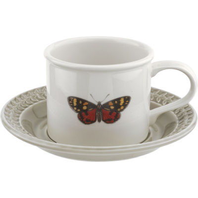 Portmeirion Botanic Garden Harmony Breakfast Cup & Saucer Stone