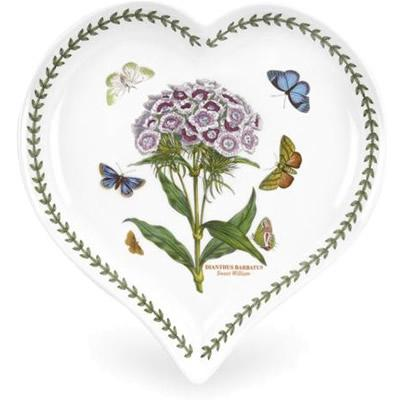 Portmeirion Botanic Garden Heart Dish 23x20cm
