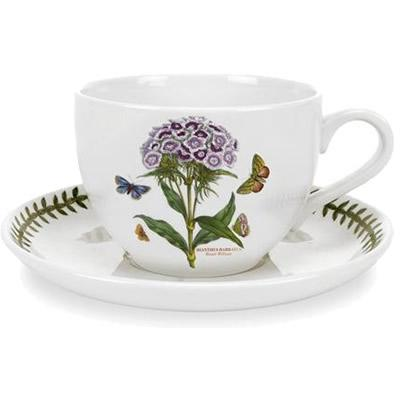 Portmeirion Botanic Garden Jumbo Cup & Saucer