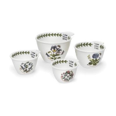 Portmeirion Botanic Garden Measuring Cups Set of 4