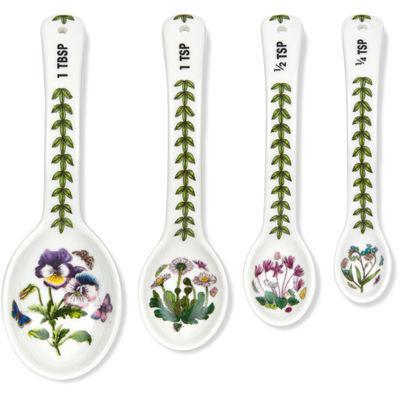 Portmeirion Botanic Garden Measuring Spoons Set of 4