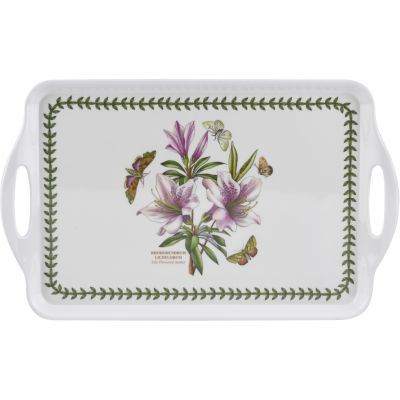 Portmeirion Botanic Garden Medium Handled Tray 38x24cm Azalea