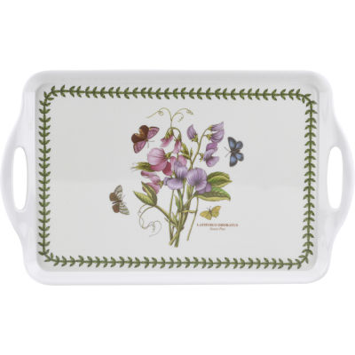 Portmeirion Botanic Garden Medium Handled Tray 38x24cm Sweet Pea