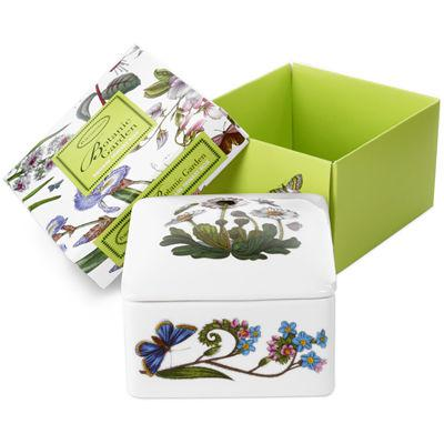 Portmeirion Botanic Garden Mini Square Trinket Box