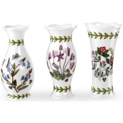 Portmeirion Botanic Garden Mini Vases Set Of 3 Louis Potts