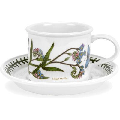 Portmeirion Botanic Garden Mocha Cup & Saucer (D)