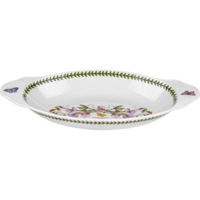 Portmeirion Botanic Garden Oval Baking Dish Handled