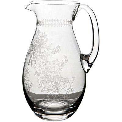 Portmeirion Botanic Garden Pitcher Jug Etched
