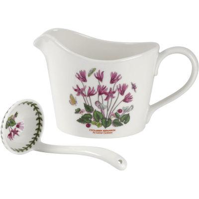 Portmeirion Botanic Garden Sauce Jug & Mini Ladle