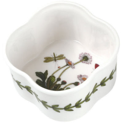 Portmeirion Botanic Garden Scalloped Ramekin Set of 2
