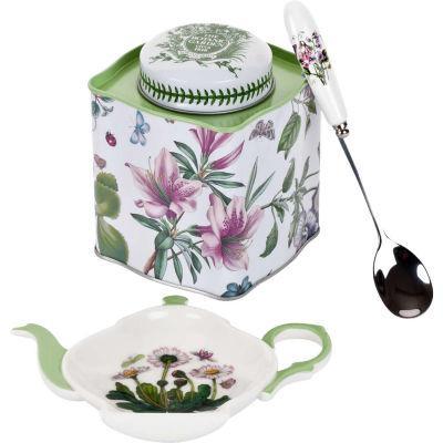 Portmeirion Botanic Garden Tea Caddy Set