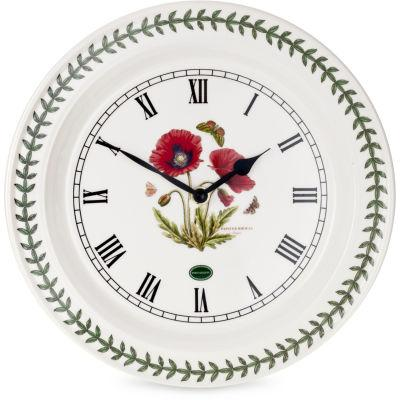 Portmeirion Botanic Garden Wall Clock Poppy 25cm
