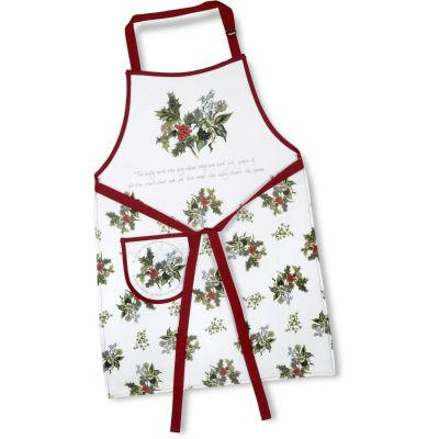 Portmeirion The Holly and The Ivy Apron Cotton Drill