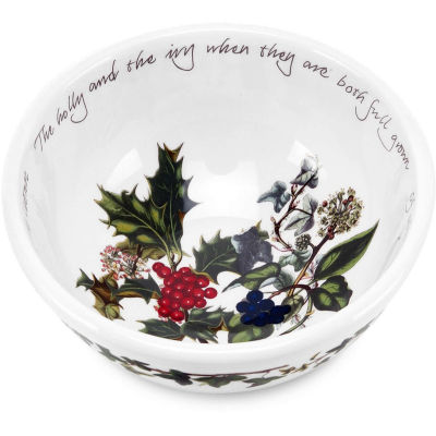 Portmeirion The Holly and The Ivy Fruit Salad Bowl 14cm