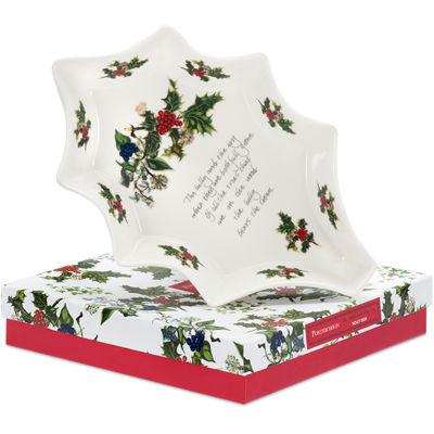 Portmeirion The Holly and The Ivy Holly Dish 25cm