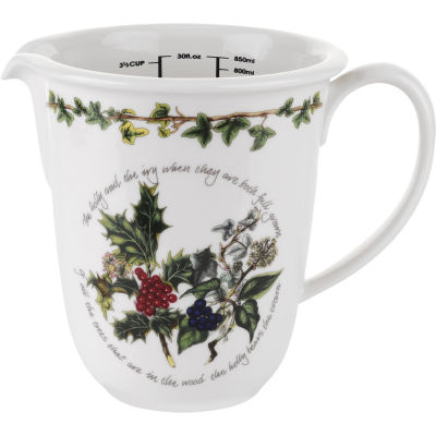 Portmeirion The Holly and The Ivy Measuring Jug