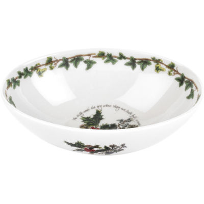 Portmeirion The Holly and The Ivy Oval Bowl 20cm