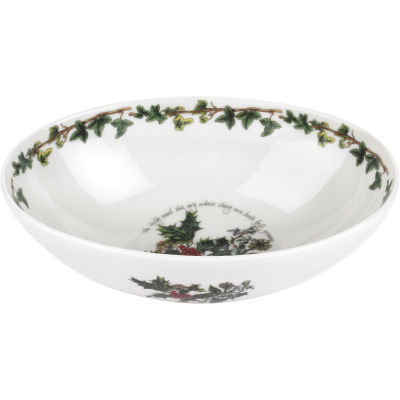 Portmeirion The Holly and The Ivy Oval Bowl 23cm