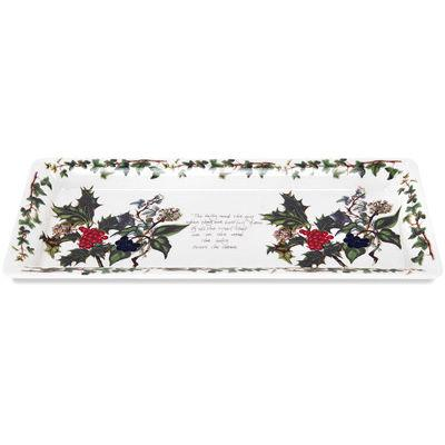 Portmeirion The Holly and The Ivy Sandwich Tray 30cm
