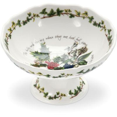Portmeirion The Holly and The Ivy Scalloped Dish