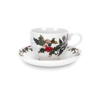 Portmeirion The Holly and The Ivy Teacup & Saucer