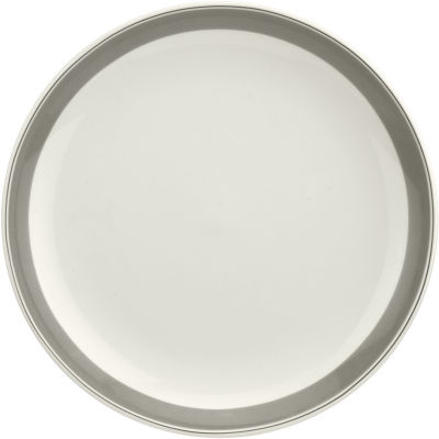 Portmeirion Westerly Coupe Plate 27cm Grey