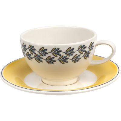 Portmeirion Westerly Tea Cup & Saucer Yellow