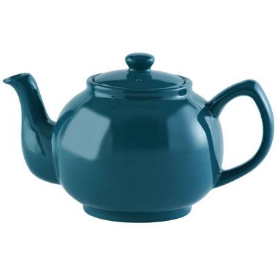 Price and Kensington Teapots 6-Cup Teapot Teal Blue