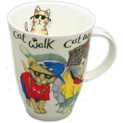 Roy Kirkham Cats & Dogs Cat Animal Fashion Louise Mug