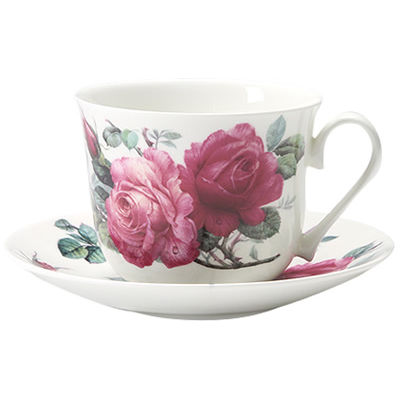 Roy Kirkham English Rose Breakfast Cup & Saucer