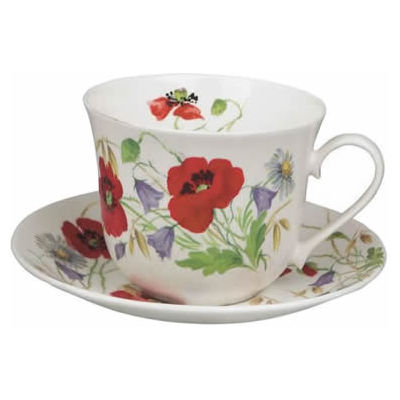 English Meadow Breakfast Cup & Saucer