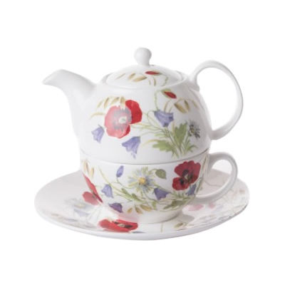 Roy Kirkham Floral English Meadow Tea-For-One