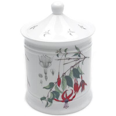 Fuchsia Cotton Wool Jar