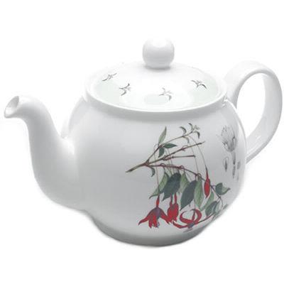 Fuchsia Teapot