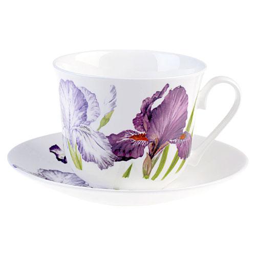 Iris Breakfast Cup & Saucer