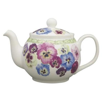 Pansy Round Teapot Large
