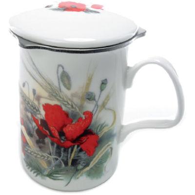 Poppy Lancaster Mug & Infuser