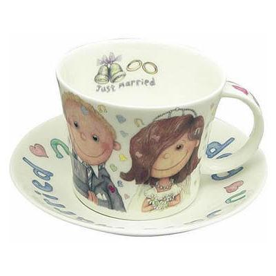 Roy Kirkham Gilbert & Sweetie Wedding Day Laura Breakfast Cup & Saucer