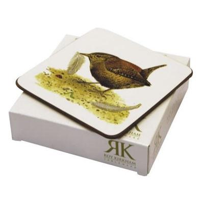 Roy Kirkham Nature Garden Birds Coasters Set of 6