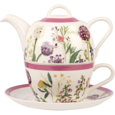 Royal Horticultural Society RHS Mugs Tea For One Himalayan Flowers