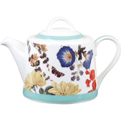 Royal Horticultural Society RHS Mugs Teapot Blooms & Butterflies