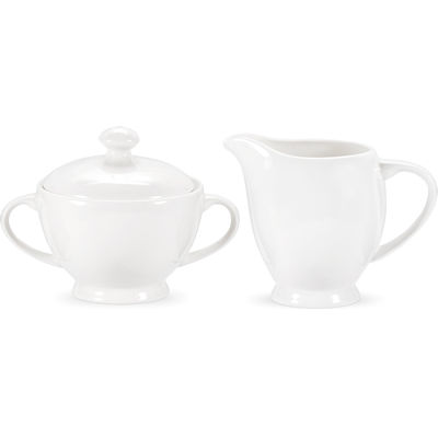 Royal Worcester Serendipity Cream Jug & Covered Sugar Bowl Pair