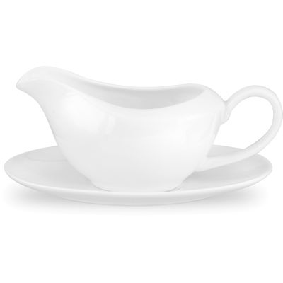 Royal Worcester Serendipity Gravy Boat & Stand