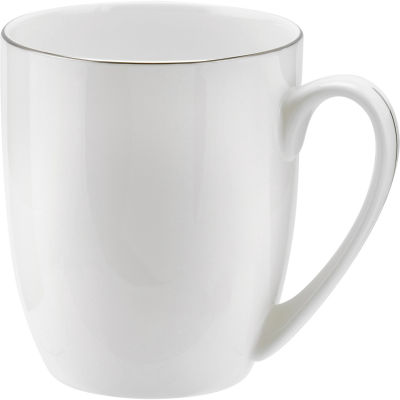 Royal Worcester Serendipity Platinum Barrel Shape Mug