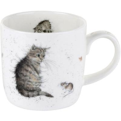 Wrendale Cat & Mouse Mug