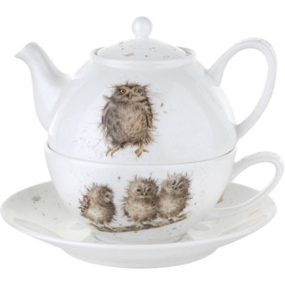 Wrendale Tea-For-One Owls