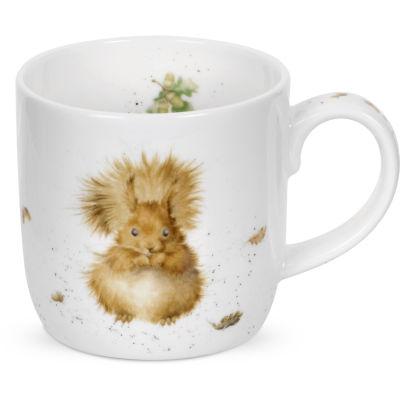 Wrendale Treetops Redhead Squirrel Mug