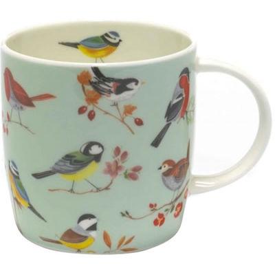 RSPB Birds Bird Song Sophie Mug Green
